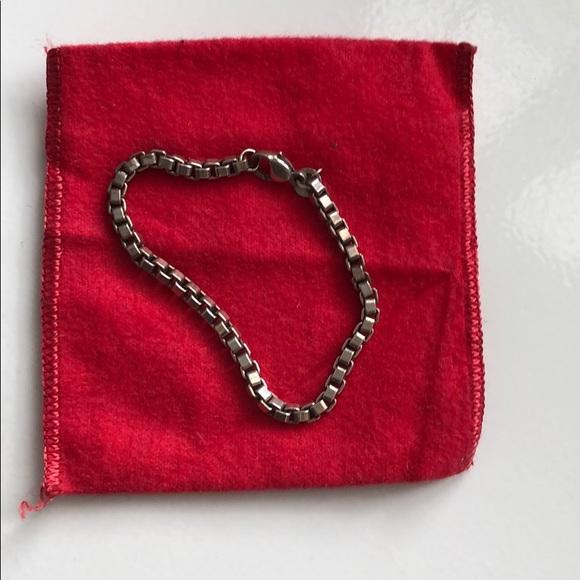Tiffany & Co. Jewelry - Tiffany box link chain bracelet